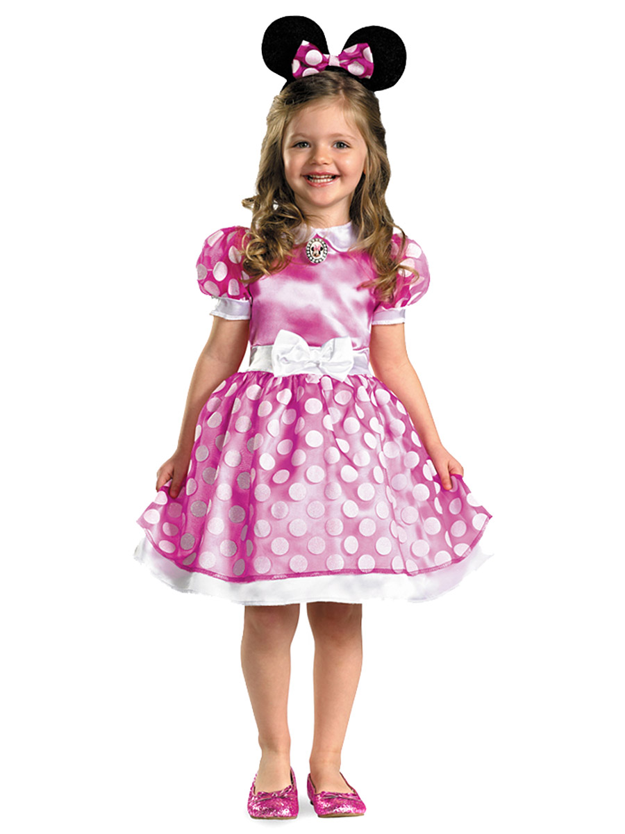 club house pink minnie mouse classic costume. Black Bedroom Furniture Sets. Home Design Ideas