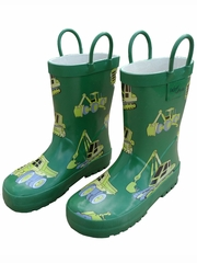 Construction Equipment Rain Boots