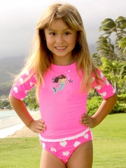 Coral & Reef Mermaid Princess 2PC Set