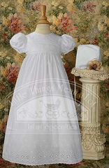 Cotton Gown W/Lace