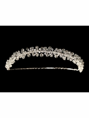 Crystal Bridal Communion Headpiece