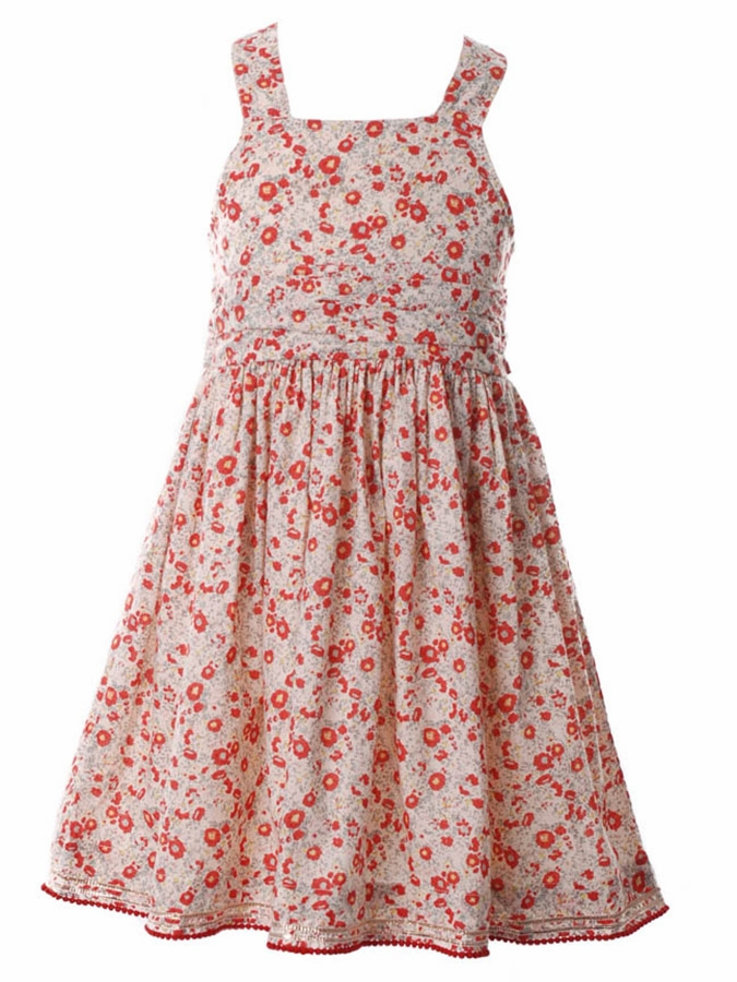 Cupcakes & Pastries Coral Baby Doll Dress