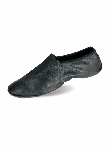 Danshūz Black Leather Gymnastic Shoes