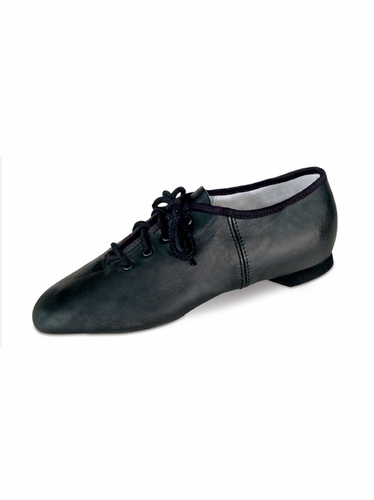 Danshūz Black Split Sole Jazz Shoes