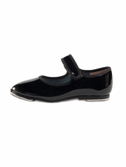 Danshūz Black Velcro Strap Tap Shoes