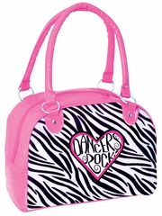 Danshūz 'Dancers Rock' Zebra Duffle Bag