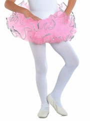 Danshūz Hot Pink Sequins Edge Tutu