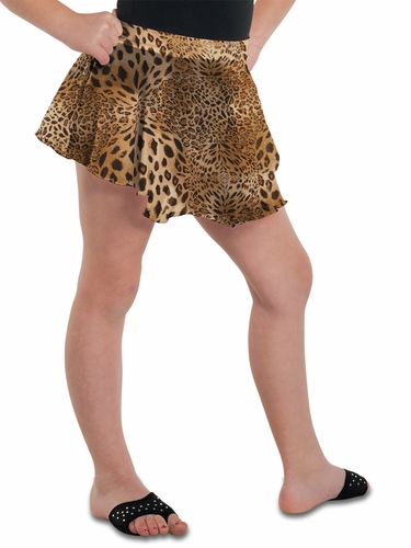 Danshūz Leopard Circle Skirt