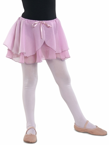 Danshūz Pink Double Layered Skirt