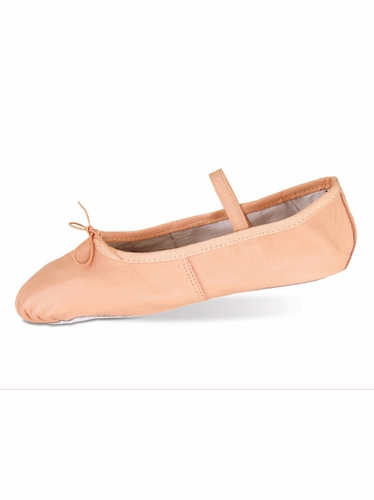 Danshūz Pink Leather Ballet Shoes