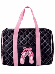 Danshūz Quilted On Pointe Ballet Duffle Bag
