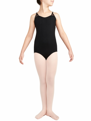 Danskin Black Pinch Strap Leotard