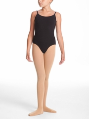 Danskin Dance Basic - Girls Black Camisole Leotard