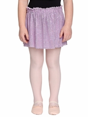 Danskin Girls Lavender Foil Skirt