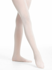 Danskin Girls Theatrical Pink Ultrasoft Microfiber Footed Tights