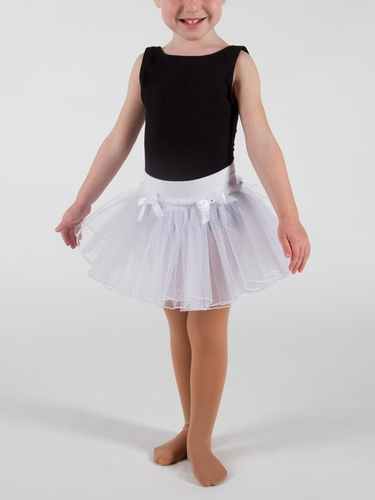 Danskin Girls White Pull on Tutu
