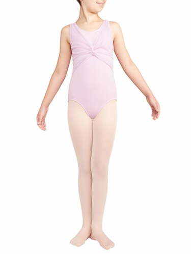 Danskin Lavender Wrap Top Leotard