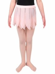 Danskin Light Pink Girls Glitter Petal Skirt