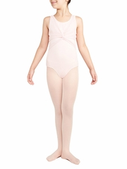 Danskin Petal Pink Wrap Top Leotard