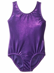 Danskin Purple Gymnastics Basics Leotard