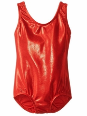 Danskin Red Gymnastics Basics Leotard