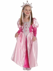 Dark Pink Medieval Queen Costume