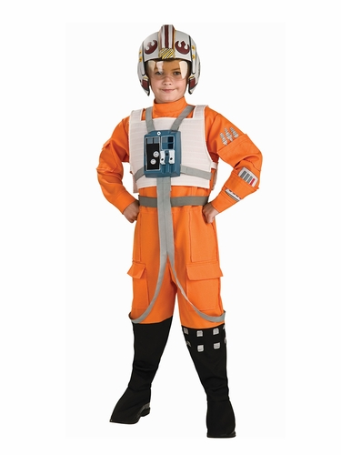 Deluxe Kids X-Wing Fighter Costume