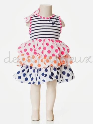 Deux Par Deux Nouvelle Vague Balloon Dress