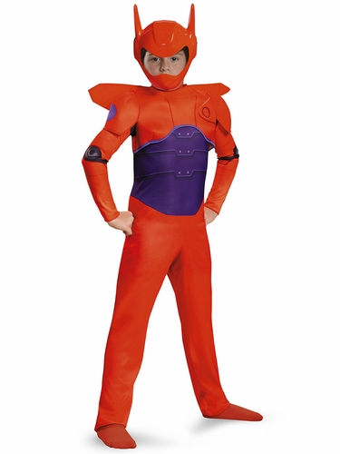 Disney Big Hero 6 Red Baymax Classic Costume