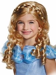 Disney Cinderella Movie Child Wig