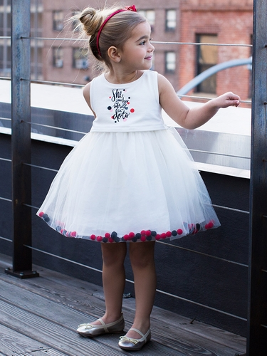 Disney Collection by Tutu Couture Minnie Mouse Pom Pom Tutu Dress
