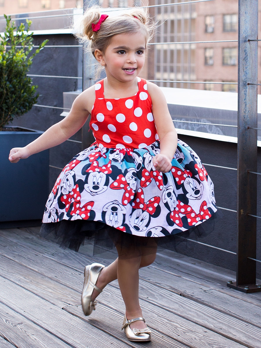 Disney Collection By Tutu Couture Minnie Mouse Poplin Tutu