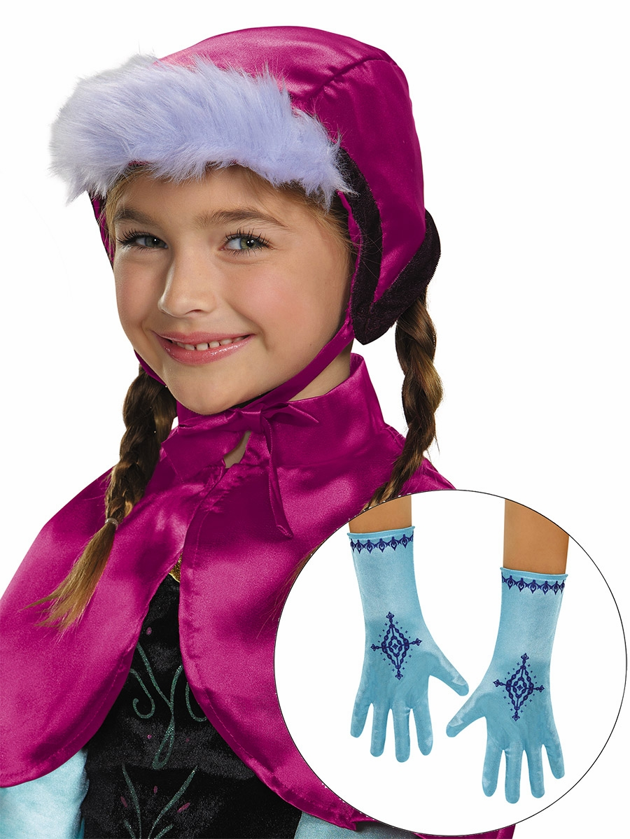Disney frozen anna bonnet gloves - Frozen anna disney ...