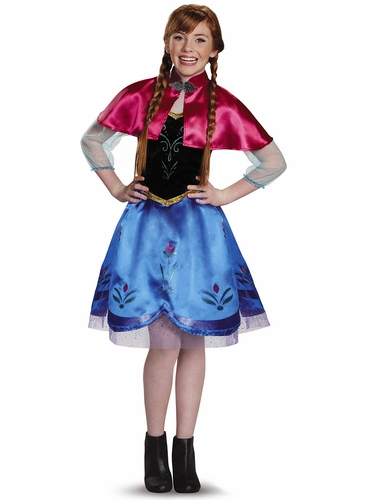 Disney Frozen Anna Traveling Tween Costume