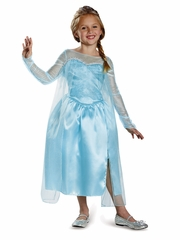 Disney Frozen Elsa Snow Queen Gown Classic Costume