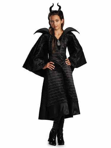 Disney Maleficent Christening Black Deluxe Gown
