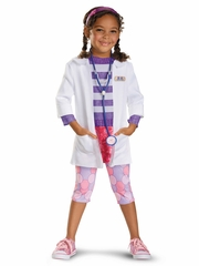 Doc McStuffins Deluxe Girls Costume