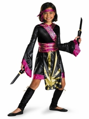 Dragon Ninja Girls Costume