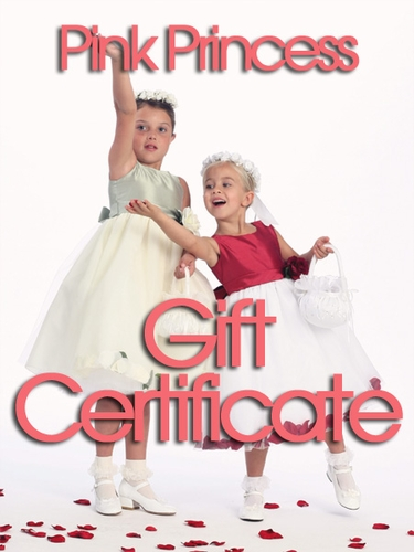 Gift Certificates, Flower Girl Dresses, Little Girl Dresses, Designer Girl Dresses