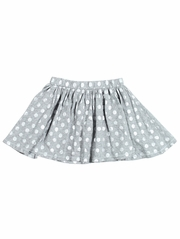 Everbloom Gray & Silver Harriet Skirt