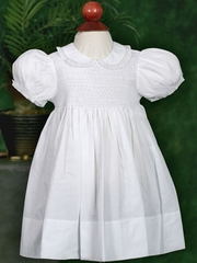 Feltman Brothers Midgie Dress w/ French Lace Collar