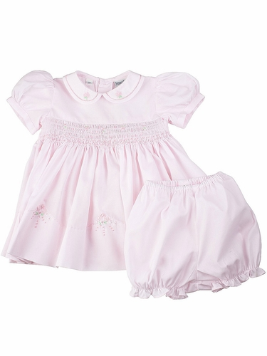 Feltman Brothers Pink Infant Midgie Dress w/ Panty