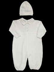 CLEARANCE - Feltman Brothers White Boys Coverall