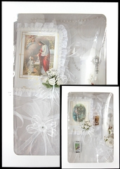 First Communion Candle Gift Set