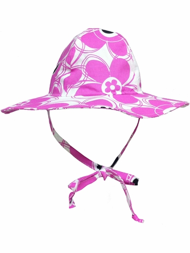 Flap Happy Wild Floppy Hat w/ Removable Flower