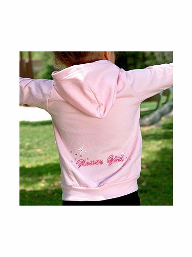 Flower Girl Hoodies - PinkPrincess.com