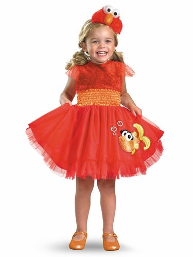 Frilly Elmo Girls Costume