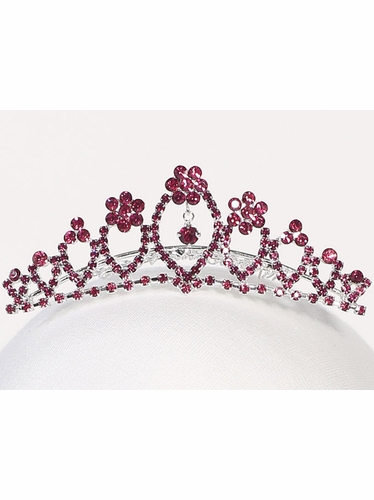 Fuchsia Diamond Tiara