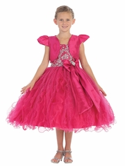 Fuchsia Pageant Dress