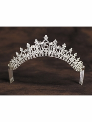 Girls Clear Stone Quincenera Tiara